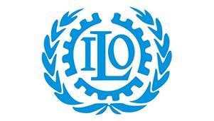 Kansainvälisen työjärjestön (ILO) logo